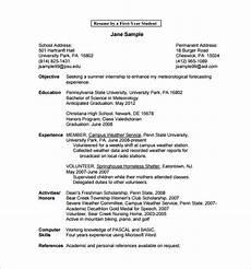 15 college resume templates pdf doc free premium