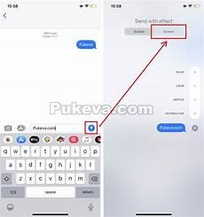 Trik Cara Membuat Efek Tulisan Di Aplikasi Imessage Iphone