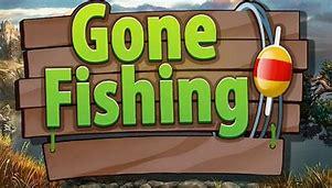 Image result for gone fishing clip art