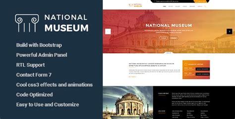 vestige museum v1 8 9 responsive wordpress theme