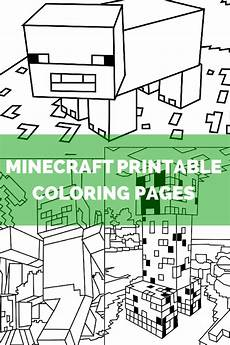 Aquarell Malvorlagen Minecraft Minecraft Coloring Pages