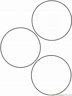 Simple Circle Coloring Pages Circles Coloring Page Coloring Home