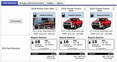 Best V8 Gas Mileage which 2019 half ton v8 truck gets the best mpg compared