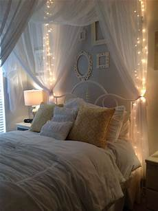 White Bedroom Ideas With Lights by Gray Walls Using Behr Gentle Canopy And White