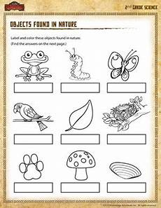 worksheets in science grade 2 12241 objects found in nature 2nd grade science worksheet sod
