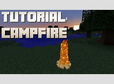 how to build campfire minecraft