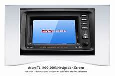 acura tl 1999 2003 navigation video interface