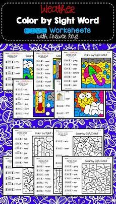 weather spelling worksheets 14679 weather color by sight word worksheets seasons morning work sight word worksheets sight words