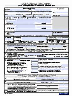 texas department of motor vehicles form 130 u impremedia net