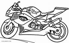 free printable motorcycle coloring pages for