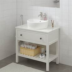 hemnes 201 l 233 ment lavabo ouvert avec 1 tiroir blanc ikea
