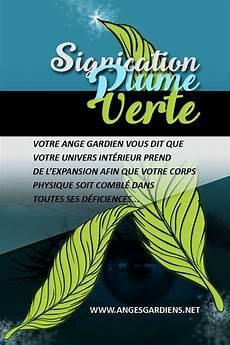 signification des plumes signification plume verte
