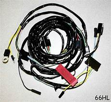 New 1966 Ford Mustang Firewall To Headlight Wire Loom
