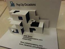 pop up business cards templates how cool is pop up occasions pop up business card pop