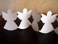 decoration ange papier guirlande bapt 234 me ange noel
