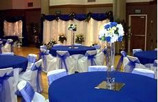 royal blue and silver wedding ideas wedding decor ideas