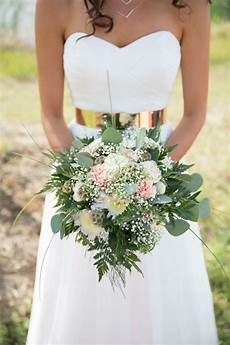 diy carnation baby s breath and scabiosa pod bouquet
