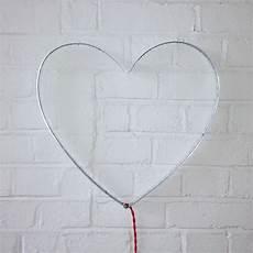 heart wall light by rawstudio notonthehighstreet com