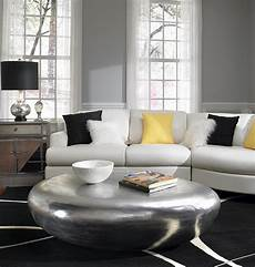 Wohnzimmer Ideen Wandgestaltung Grau - gray and yellow living rooms photos ideas and inspirations