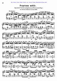 free sheet music for perpetuum mobile op 119 mendelssohn felix by felix mendelssohn