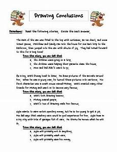 updated drawing conclusions worksheet by radical reading ideas