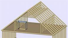 attic truss roof design gif maker daddygif com youtube