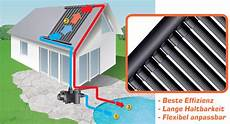 solarheizung selber bauen poolripp solarabsorber poolheizung