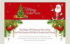 merry christmas a newsletter responsive web template w3layouts com