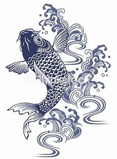 Dessin Poisson Japonais Japanese Carp Stock Illustration Thinkstock