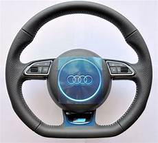 New 2016 Audi S Line A3 S3 8v Rs Q3 A1 Steering Wheel Flat