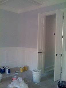 benjamin moore bunny gray the walls in this room is