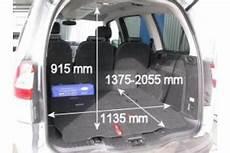 Ford Galaxy Kofferraum Maße - adac auto test ford galaxy 2 2 tdci dpf titanium