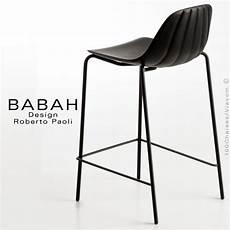 chaises cuisine design 91893 tabouret de cuisine design babah 65 pieds acier peint assise coque plastique dossier fantaisie