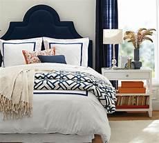 Bedroom Ideas Blue Headboard by Shelby Geo Duvet Cover Sham Color Bedroom Orange