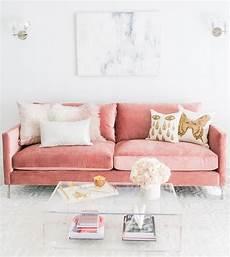 couch rosa sof 225 rosa saiba como usar 50 modelos para decorar a sala