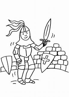 Ausmalbilder Drachen Und Ritter Kostenlose Malvorlage Ritter Und Drachen Ritter Mit