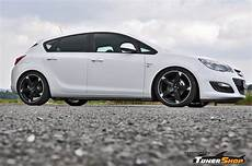 opel astra with black rondell wheels tunershop