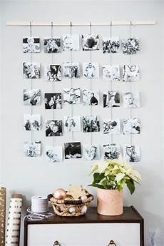 eine kreative fotowand selber machen diy anleitung und ideen