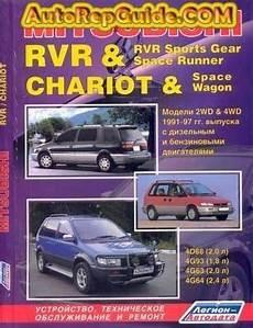 auto repair manual free download 1988 mitsubishi chariot windshield wipe control download free mitsubishi rvr chariot 1991 1997 repair manual image by autorepguide com