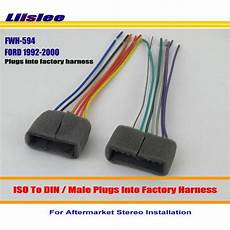 ford probe stereo wiring liislee car radio cd player to aftermarket stereo dvd gps wiring harness wire adapter for ford