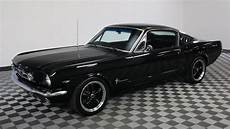 mustang 1965 1965 ford mustang fastback black youtube