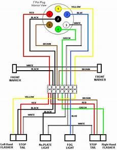 trailer wiring diagram 7 pin 5 wires flat trailer wiring diagram