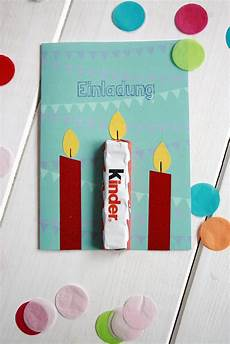 kindergeburtstag einladungskarte idee ferrero kinder