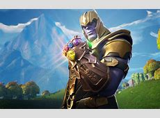 Download wallpapers Thanos, 4k, Fortnite, warrior, 2018