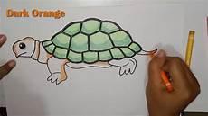 Mewarnai Gambar Kura Kura Turtle Coloring Pages For