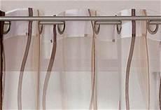 gardinen braun 2 st gardine voile 140 x 175 creme braun 214 sen schal