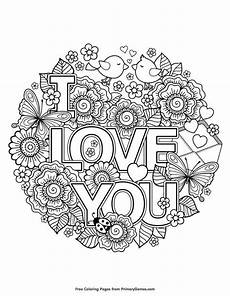 valentine s day coloring pages ebook i love you