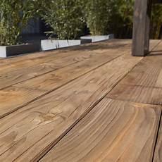 Plancher Bois Pour Terrasse Planche Bois Douglas Naterial Marron L 250 X L 14 Cm X