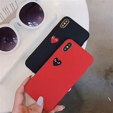 Gambar Hati Warna Hitam Merah Iphone 6 6s 6plus