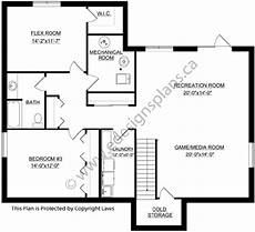 walkout bungalow house plans bungalow plan 2014826 with walkout basement by e designs